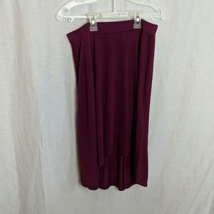 Beautiful purple skirt